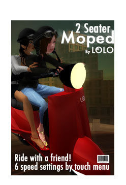 2 Seater LOLO Moped